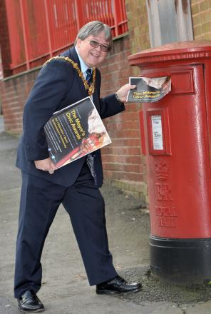Mayor of Dudley, Councillor Melvyn Mottram urges people to get their nominations in this week