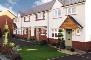 Typical Redrow homes, similar to those at Hamlet Place, where FirstBuy is now available.