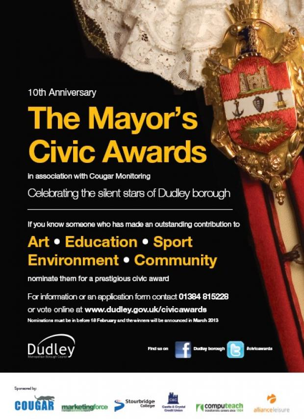 Mayor's Civic Awards 2013