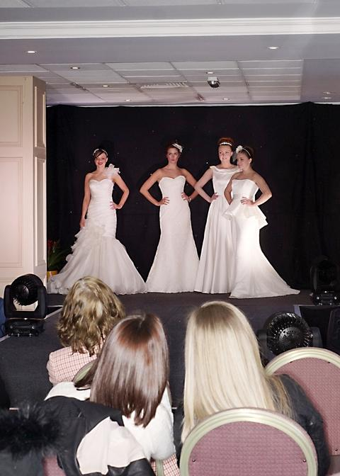Models wearing gowns from Georgina Scott Bridal, Lye near Stourbridge.