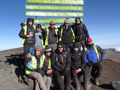 College lecturer completes mountainous challenge