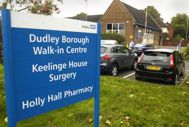 Health centre open longer to ease pain on Dudley emergecy t