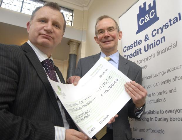 Dudley News: Cllr Pete Lowe and Robert Higham Church of England Worcester Diocesan Secretary
