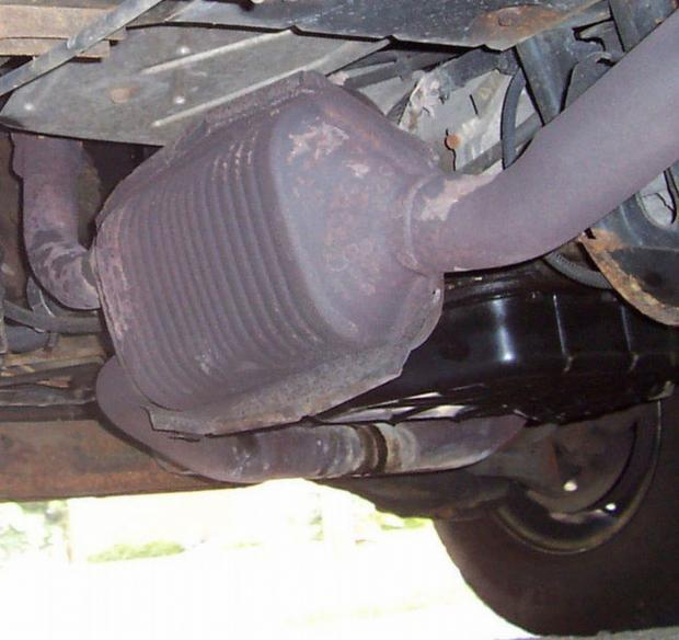 Catalytic converters are being targeted by vehicle crroks