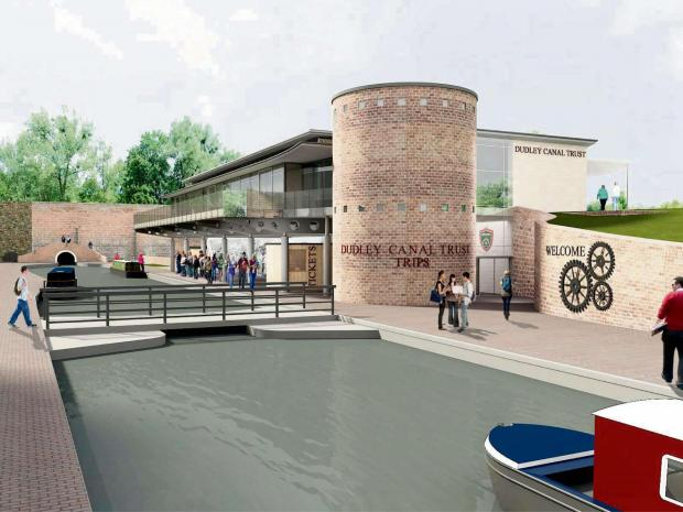 An artist's impression of the new Portal at Dudley Canal Trust