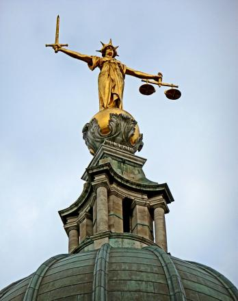 Man given suspended sentence for reversing car into bailiff