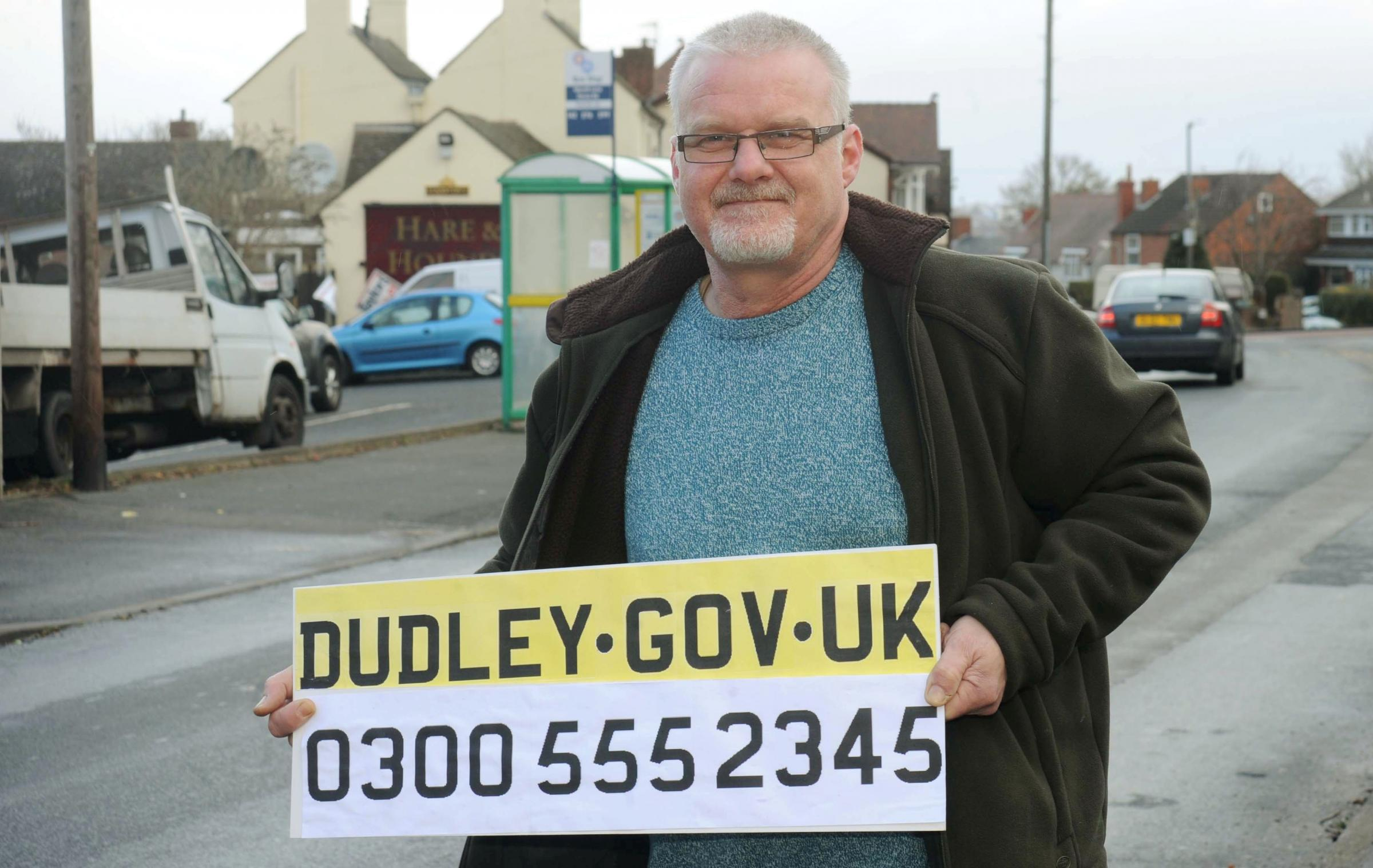 Cllr Richard Body is urging people to submit their nominations for the Taxi Base of the Year awards.081414E