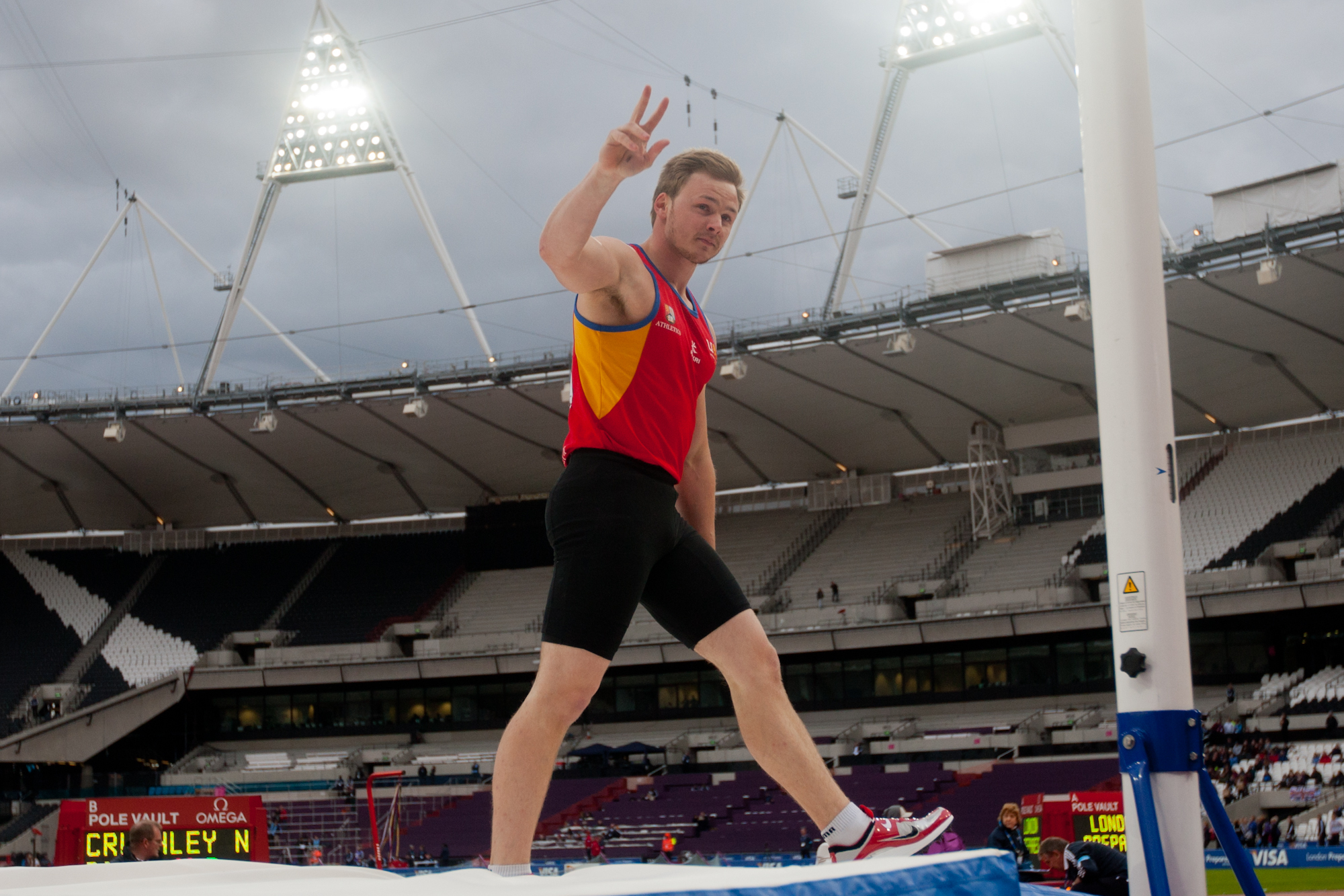 Stourbridge's Nick Cruchley claimed pole vault gold (4310454)