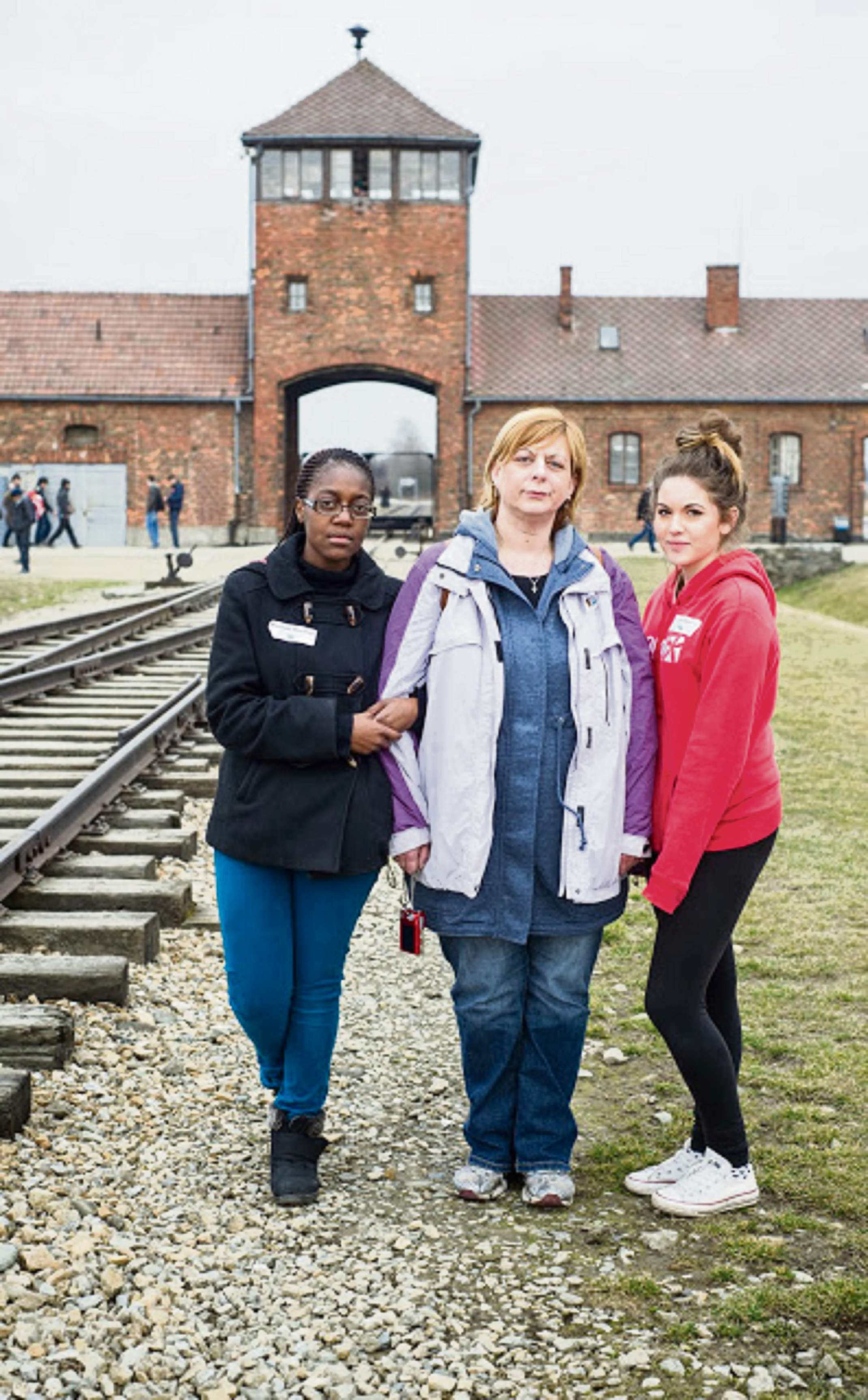Dudley students visit Auschwitz - the worst crime scene in human history
