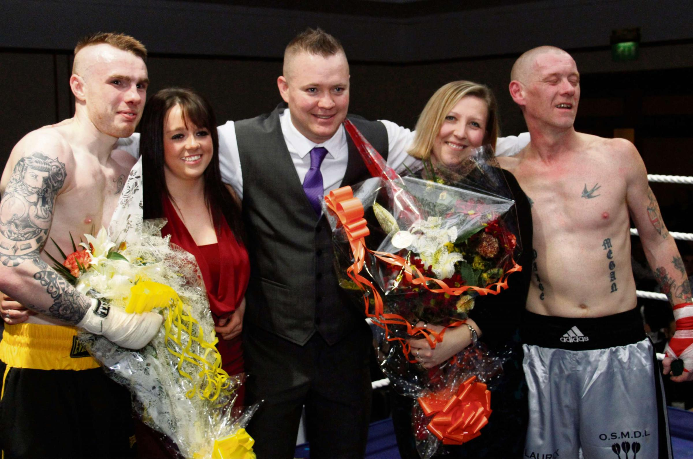 Black Country boxers pack a punch with knock-out marriage proposals