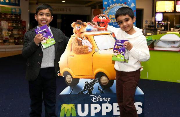 Dudley News: Avi Kandola, aged five, and Dharam Uppal, aged six, from Dudley. Pic by Shaun Fellows / Shine Pix.