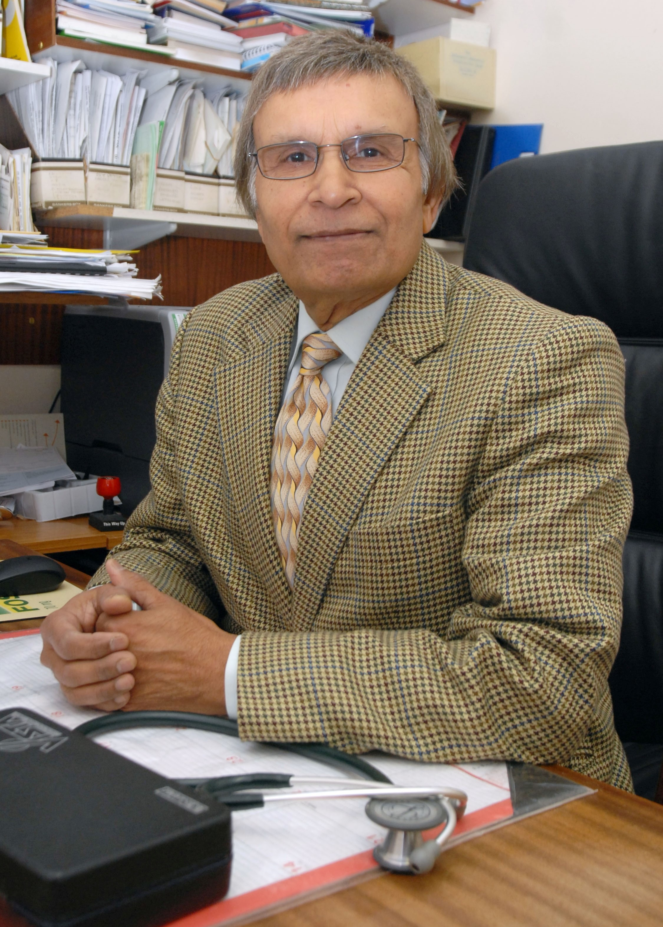 Dr Joginder Pall who is retiring after 37 years as a GP in Dudley