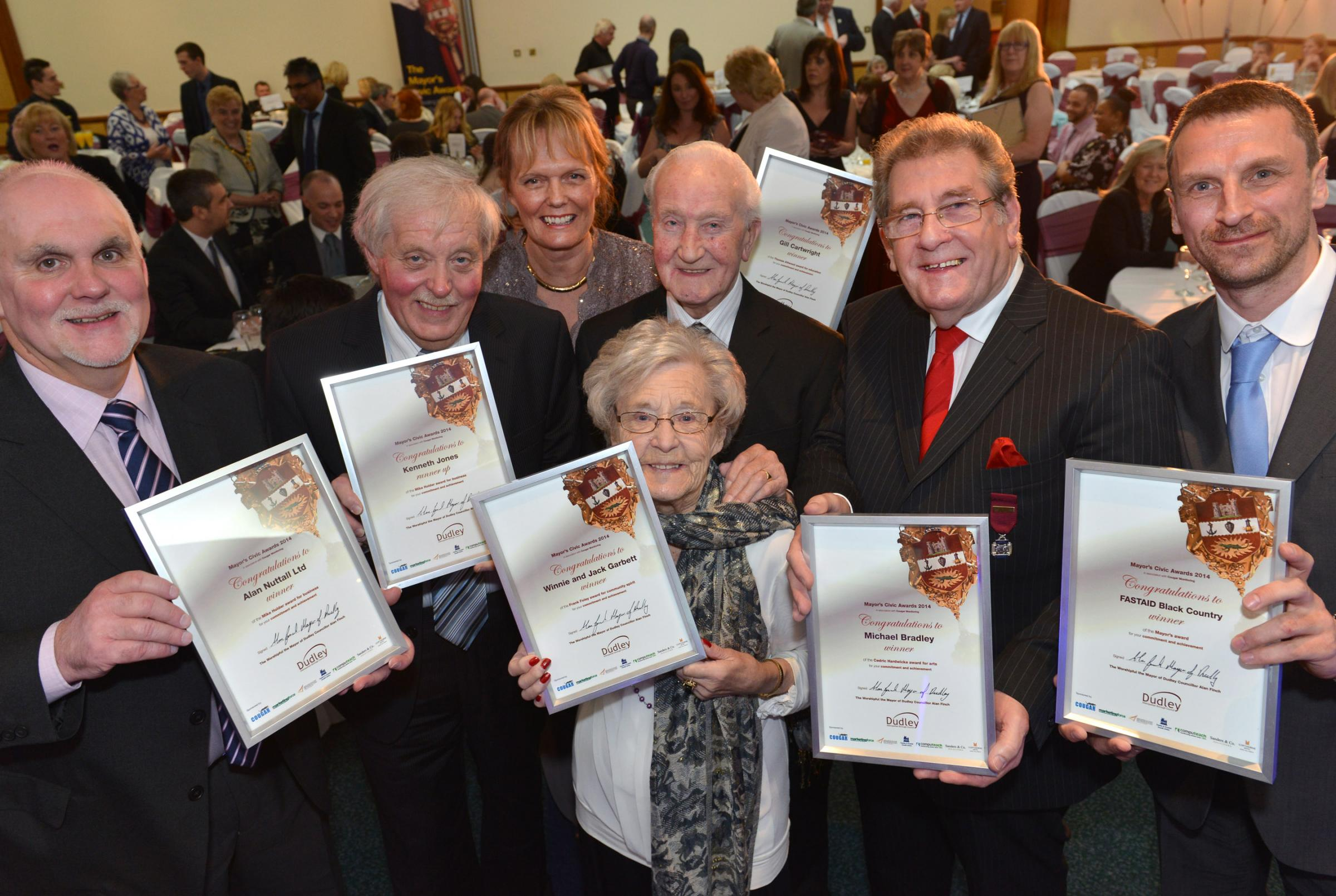 Unsung community heroes honoured at Mayor's Civic Awards