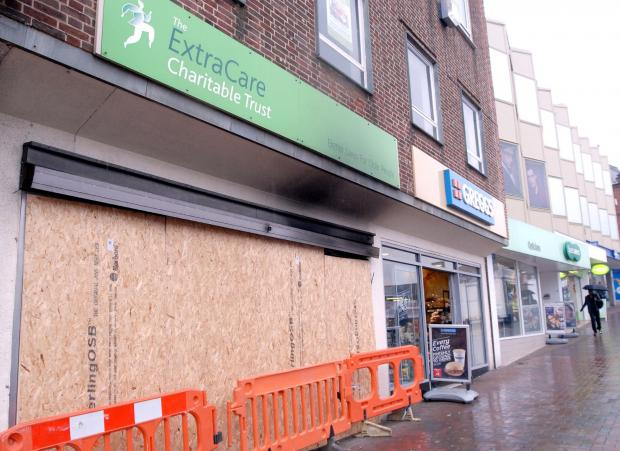 Dudley News: The Extra Care Charitale trust, charity shop fire in Dudley