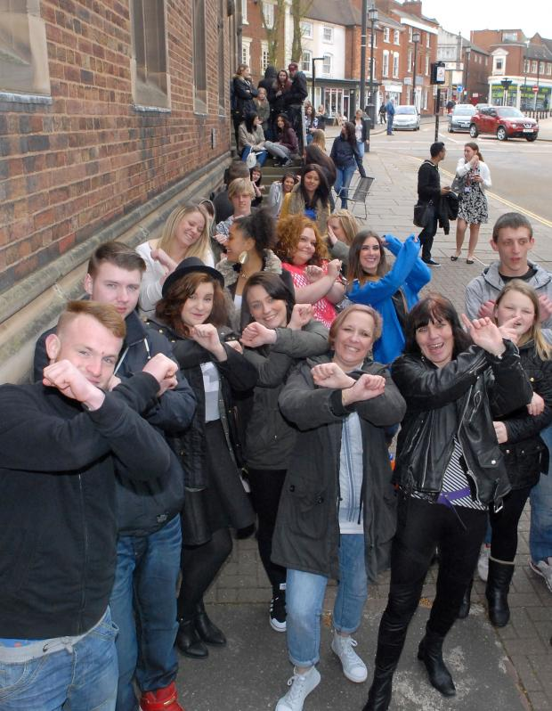 Dudley News: X Factor hopefuls in Dudley.