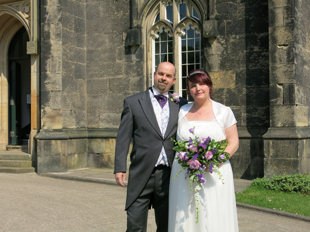 Craig and Mandy Perry at Priory Hall where they won a free wedding.