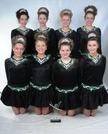 Irish dancers from Kinver step their way to success