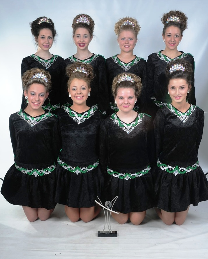 Irish dancers from Kinver step their way to su