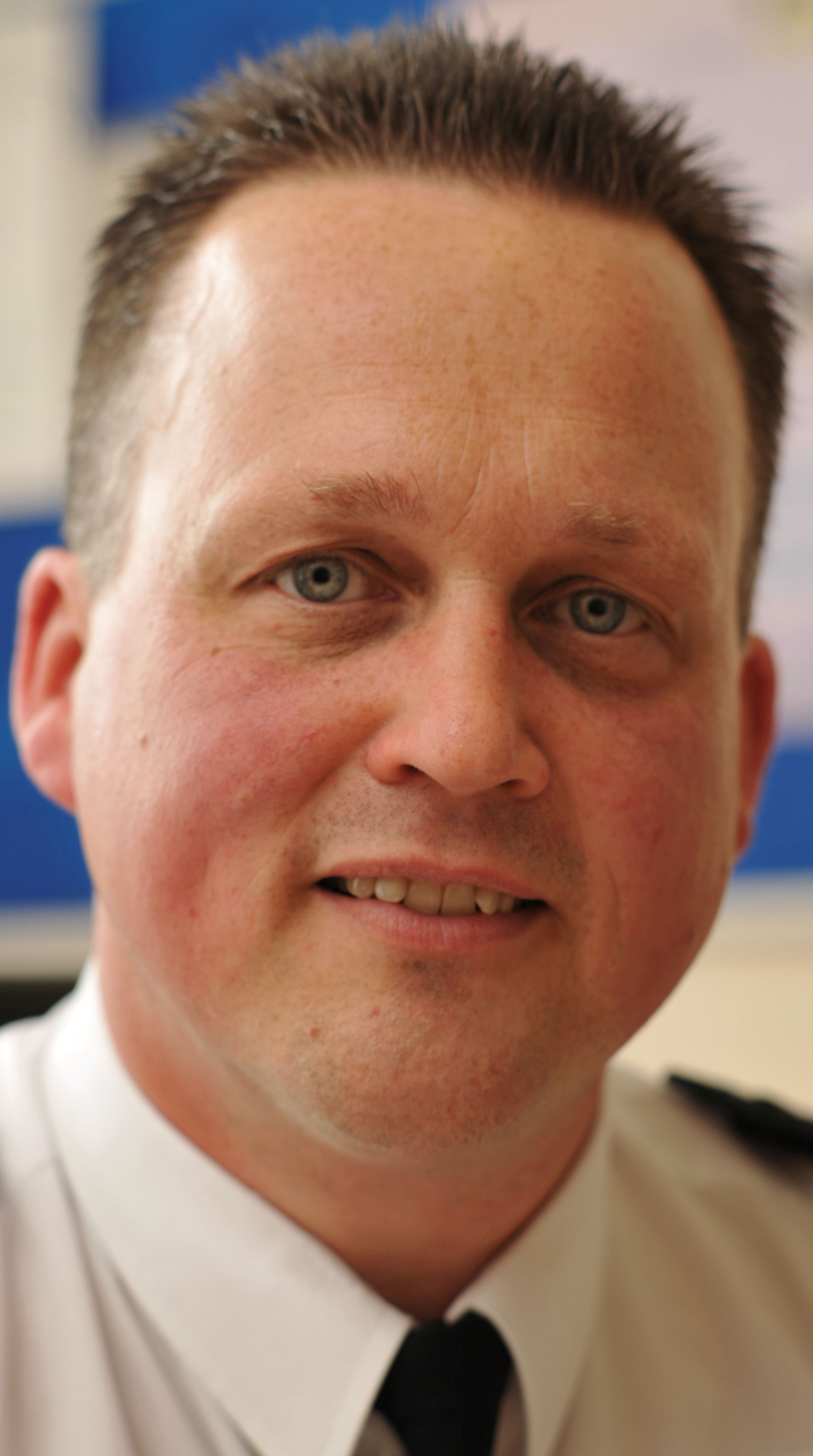 Chief Superintendent Chris Johnson. Buy this photo: 241437L.