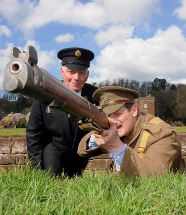 Visitors to Himley Hall on Armed Forces Day will see a number of WWI themed displays