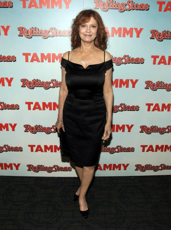Sarandon's on the road again