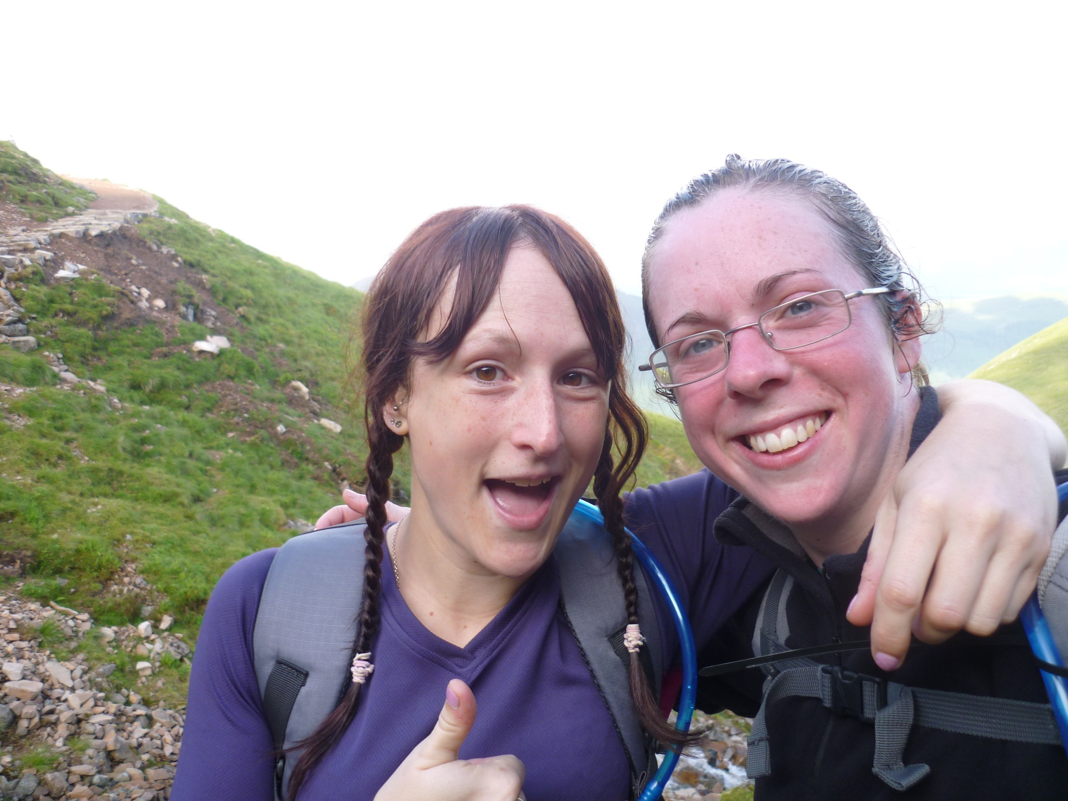 Zoo keepers raise nearly £3,000 for endangered monkeys after completing Three Peaks Challenge
