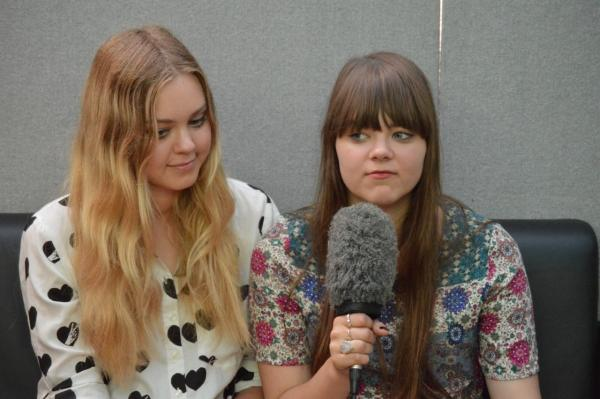 Sisters Johanna and Klara Soderberg have found chart success as singing duo First Aid Kit
