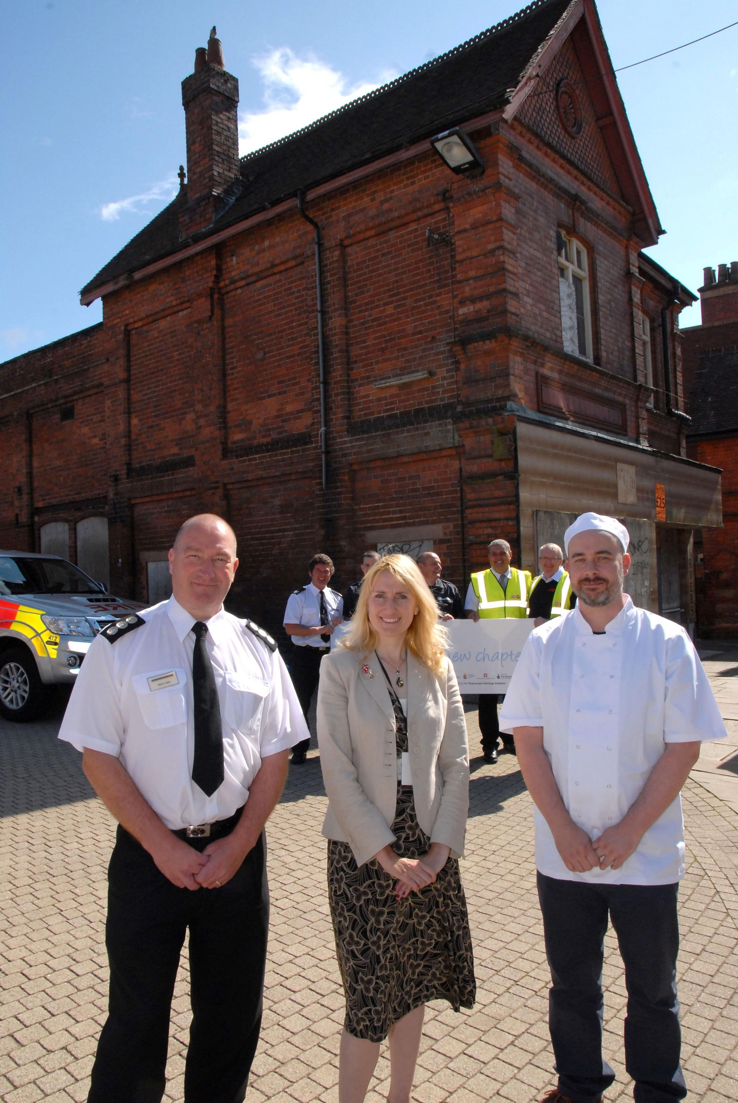Joy as Dudley centre landmark restoration project begins
