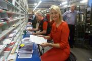 MP delivers Christmas cheer to Black Country postal workers