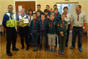 Police funding to help Dudley Scout camps