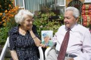 Eileen and Stan Goldsworthy have celebrated their 70th wedding anniversary