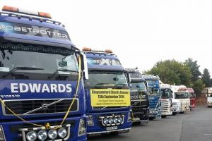 Truckers to raise awareness for organ transplants with Kingswinford Charity Truck Convoy