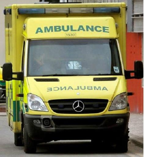 Five taken to hospital after two-car crash in Dudley