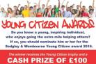 Nominations open for Young Citizens Awards