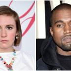 Dudley News: Lena Dunham blasts Kanye West's naked celebs music video