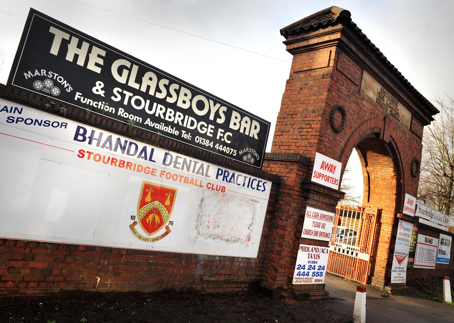 Stourbridge may have to leave War Memorial Ground to progress, says chairman Andy Pountney