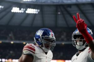 Landon Collins steals show as Giants hit back to beat Rams at Twickenham