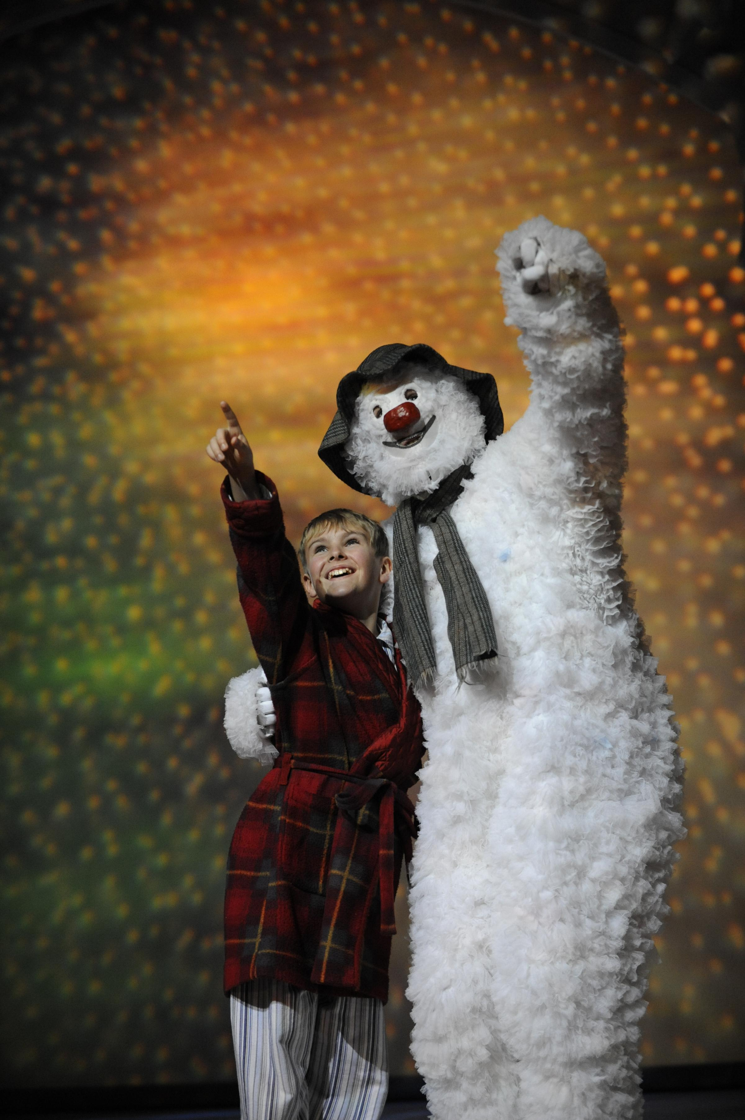 Snowman set to melt hearts on return to Birmingham Repertory Theatre