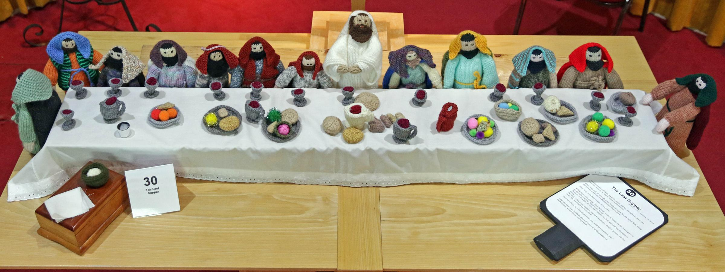 Knitted Bible