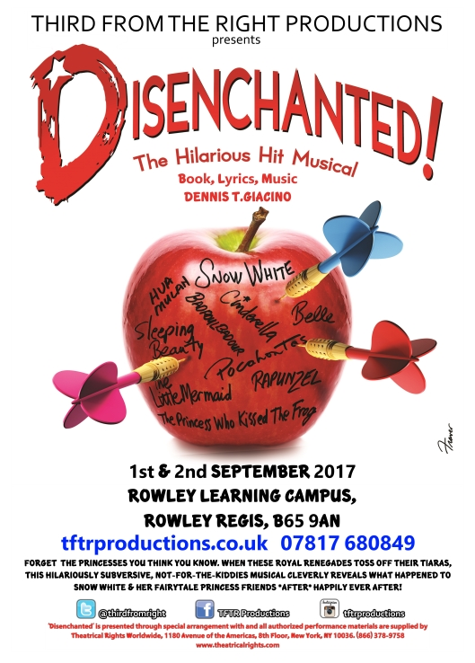 Third From The Right Productions presents 'Disenchanted!'