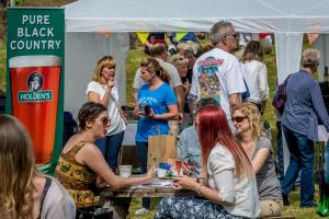 Visitors to last year's Halfpenny Green Vineyard food and wine festival were able to sample a wide variety of produce. Picture from Halfpenny Green Vineyard