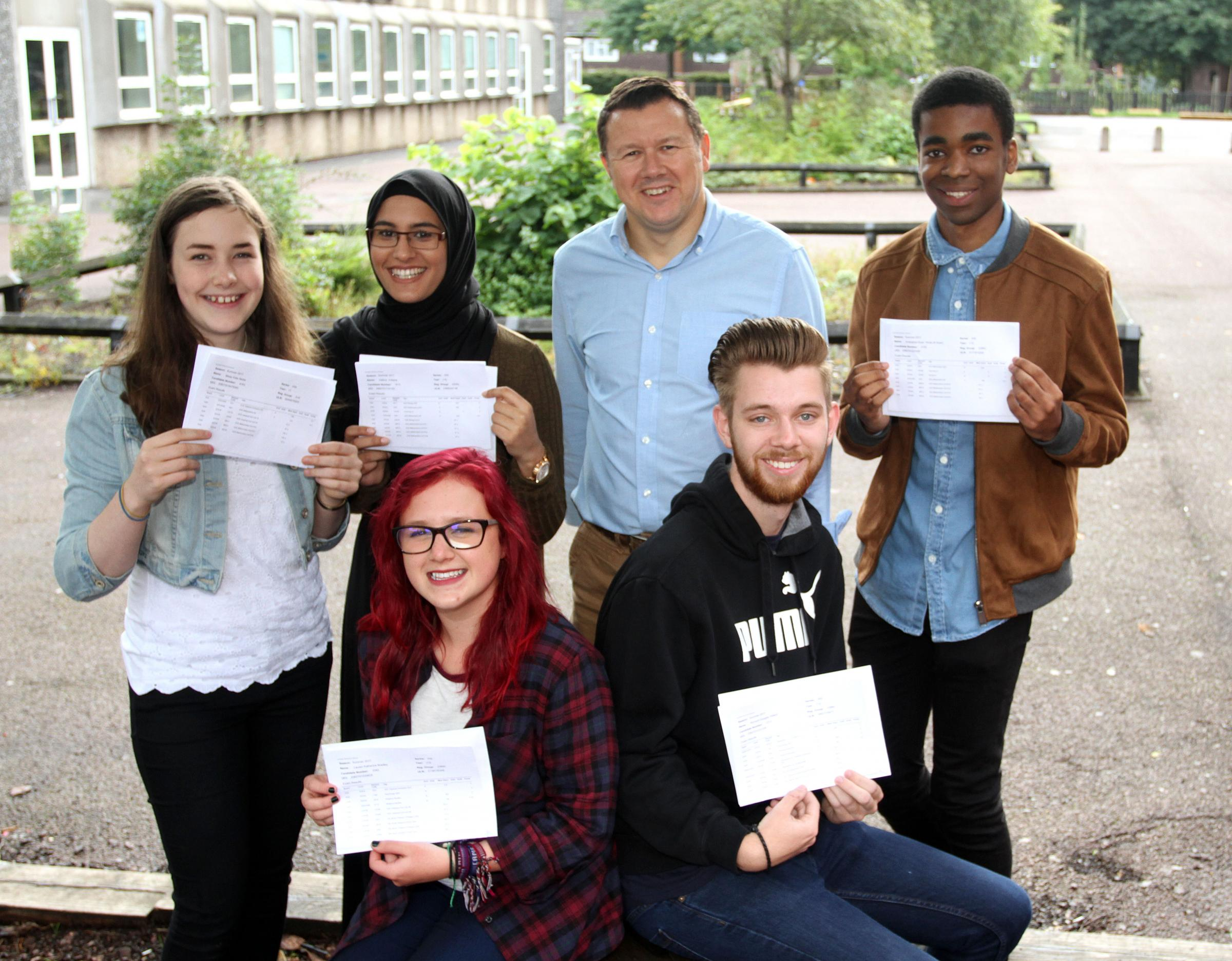 Black Country A-level results day 2018