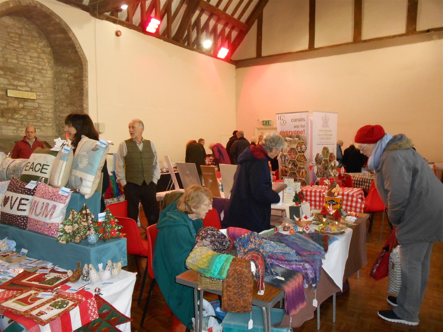 Hereford and Gloucester Canal Trust Winter Bazaar