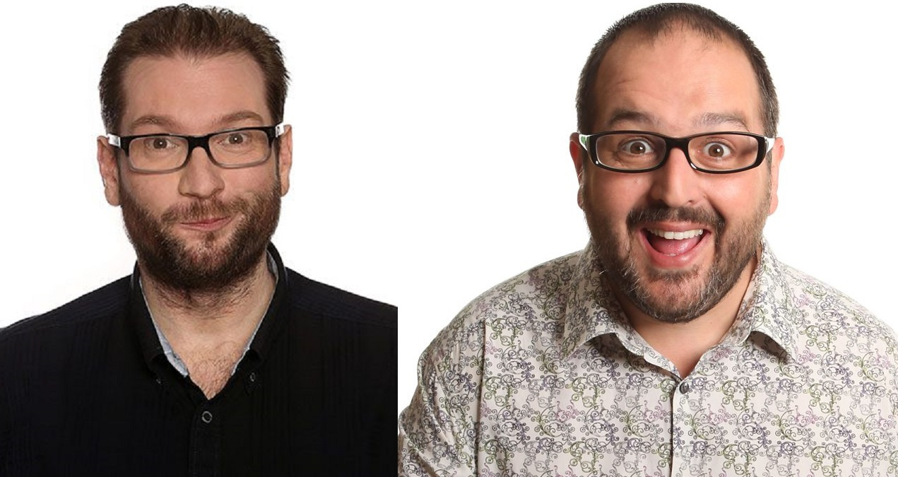 Comics Gary Delaney and Justin Moorhouse will appear on a double headline bill at the next Live At The Civic comedy night at Brierley Hill Civic Hall.