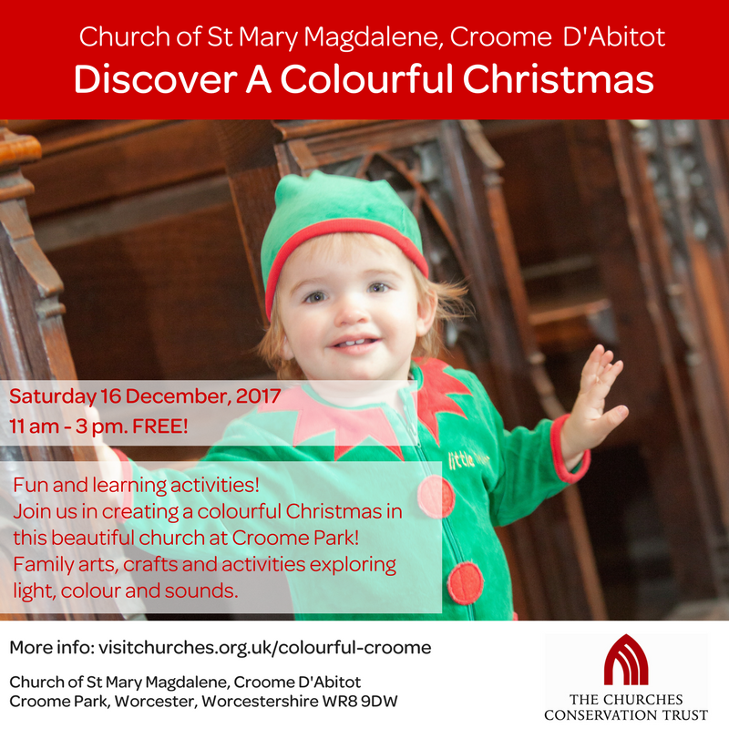 Discover a Colourful Christmas - Croome D'Abitot