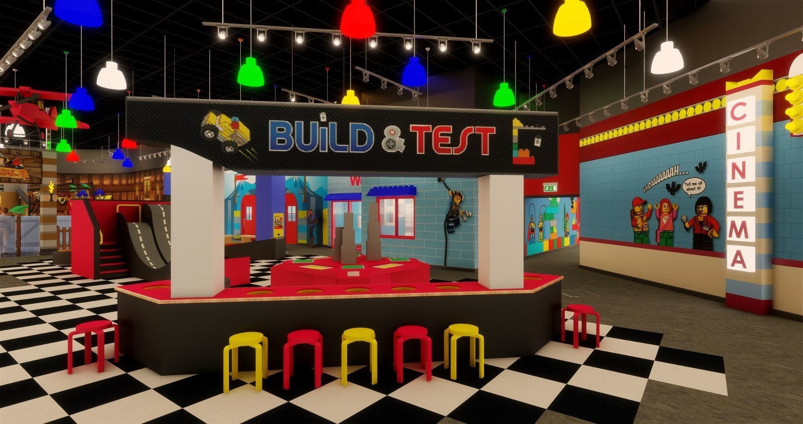 LEGOLAND Discovery Centre Birmingham will officially open its doors in summer 2018