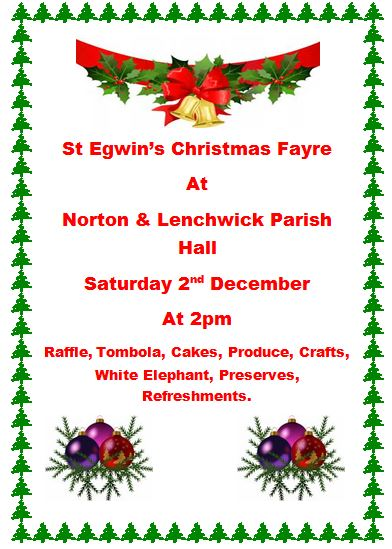 St Egwin's  Christmas Fayre