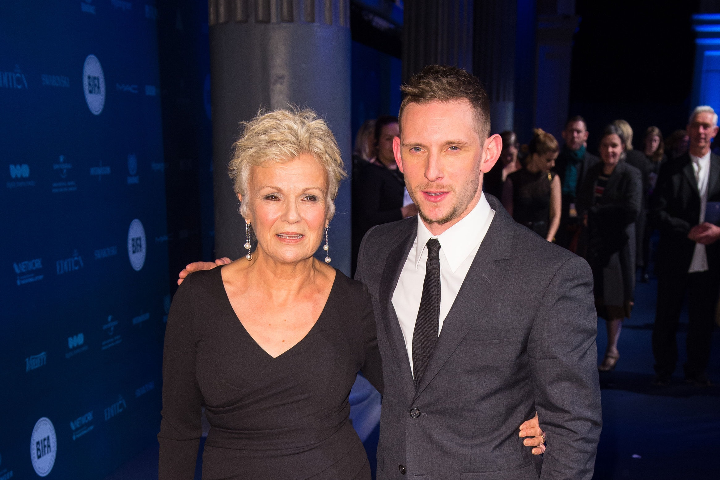 Julie Walters and Jamie Bell (Dominic Lipinski/PA)