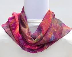 Silk scarf for Mother's Day