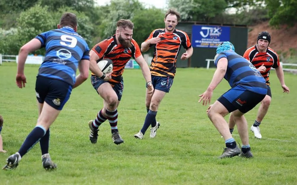 DK suffered play-off disappointment against Syston. Photo by Andrew Dugmore.